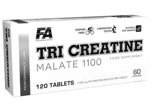 FA - Tri Creatine Malate 1100, 120 Tabletten