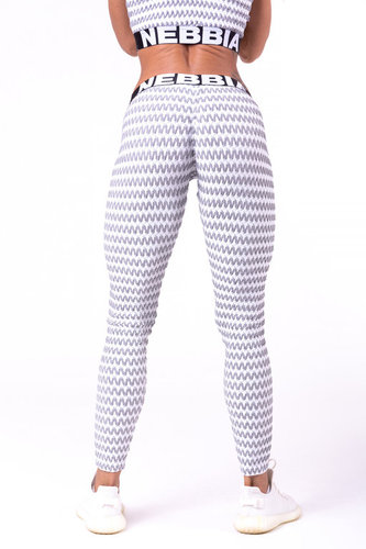 Nebbia - Boho Style Leggings mit 3D Muster