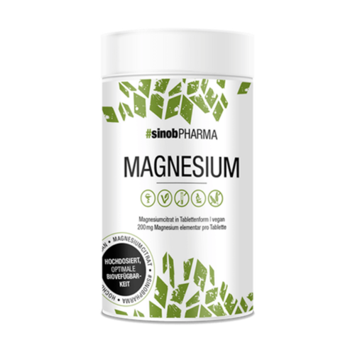 Blackline 2.0 - Magnesium Citrat, 120 Tabletten