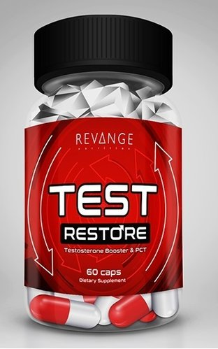 Revange Nutrition - Test Restore, 60 Caps